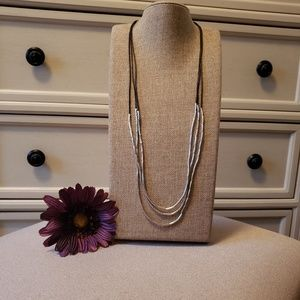 Silpada Sterling flash necklace